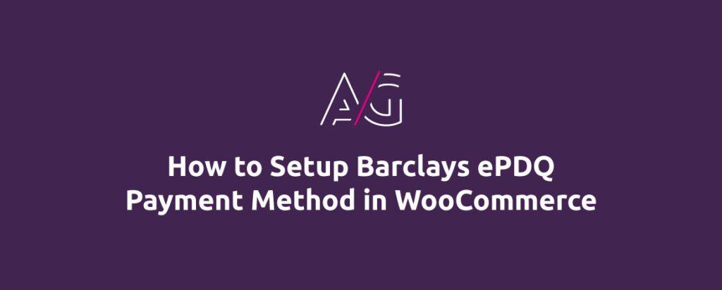 woocommerce Barclays