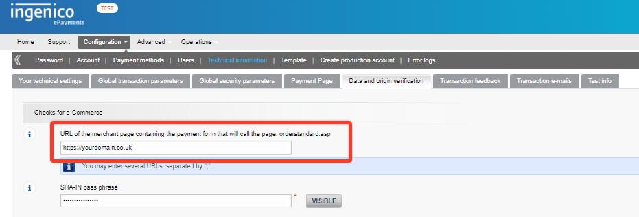 Ingenico WooCommerce translate